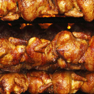 pollos a l'ast