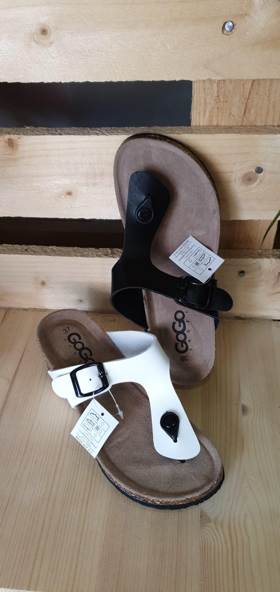 Zapato verano tira separadora dedo pulgar 1