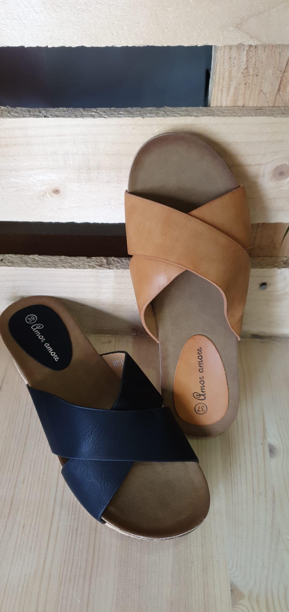 Zapato verano con tiras cruzadas 1